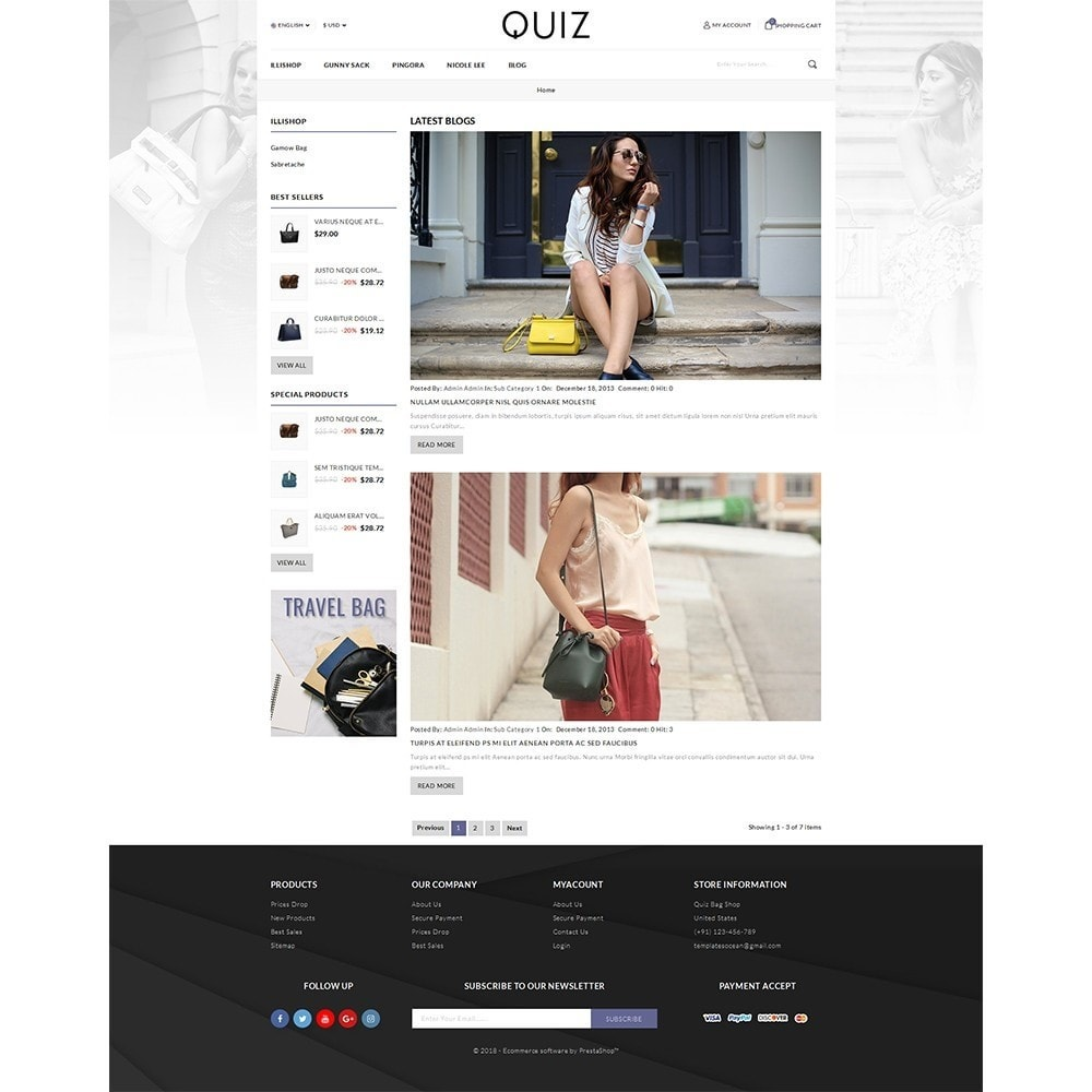 theme - Jewelry & Accessories - Quiz Bag Store - 4