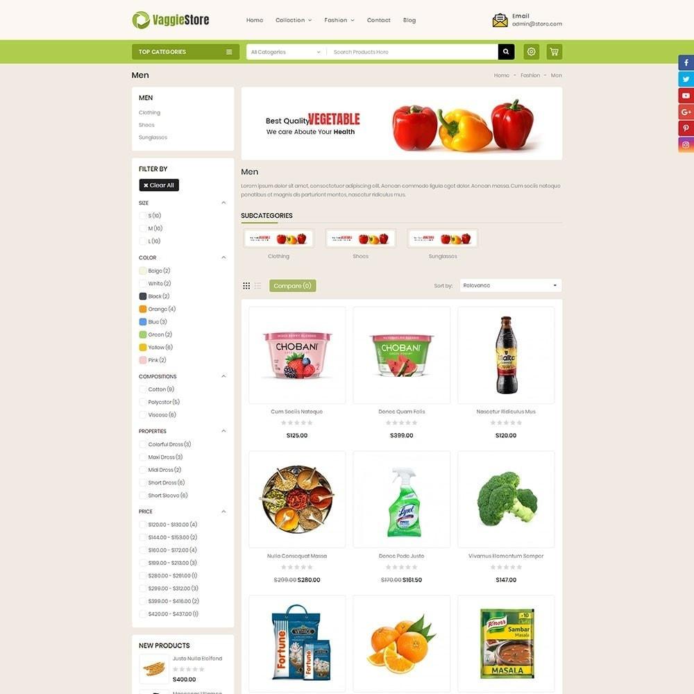 theme - Żywność & Restauracje - Vaggie Store - 3