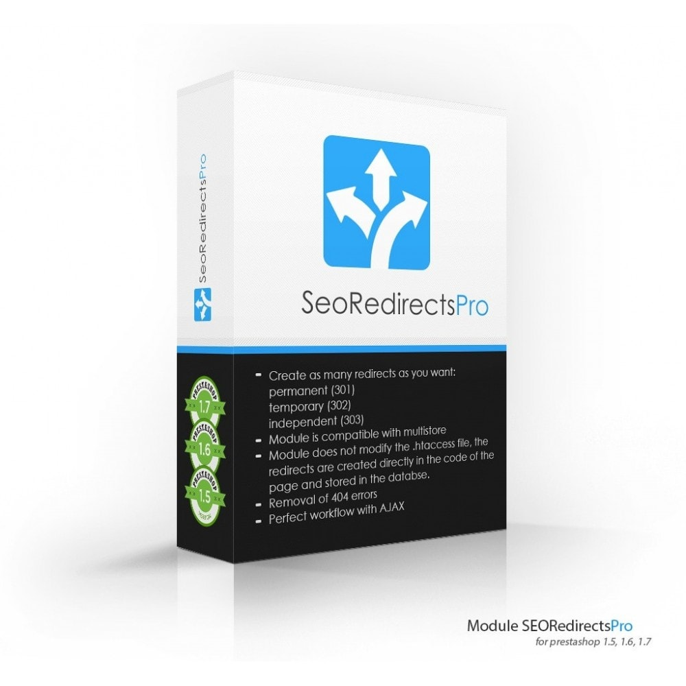 module - URL & Redirections - Seo Redirects Pro (301, 302, 303 URL Redirects) - 1