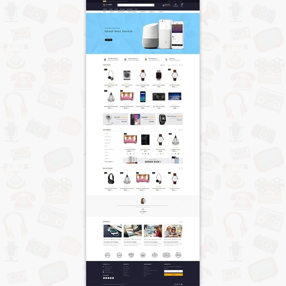 theme - Eletrônicos & High Tech - LiveMart - The Mega Ecommerce Store - 2