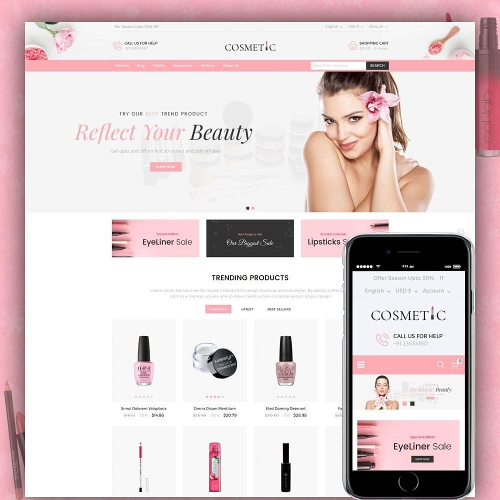 theme - Zdrowie & Uroda - Cosmetics Store - 1