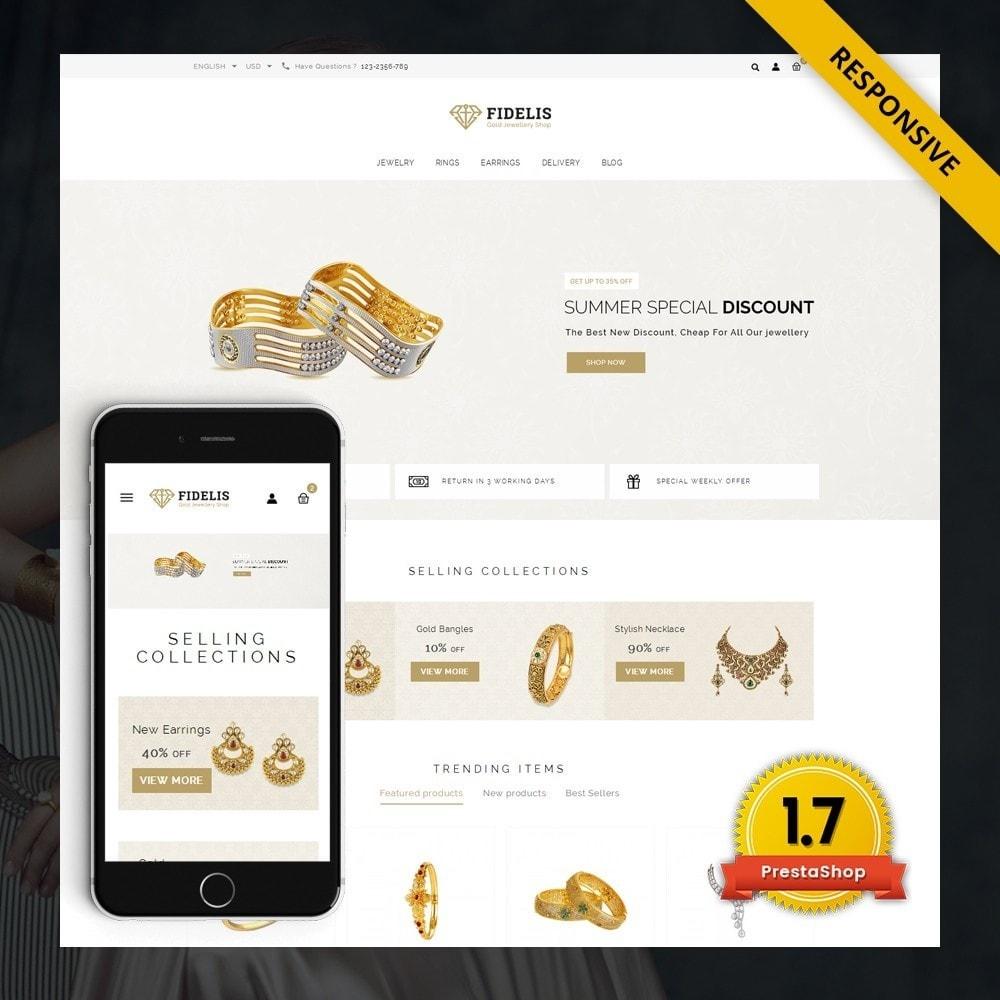 theme - Jewelry & Accessories - Fidelis - Jewelry Store - 1