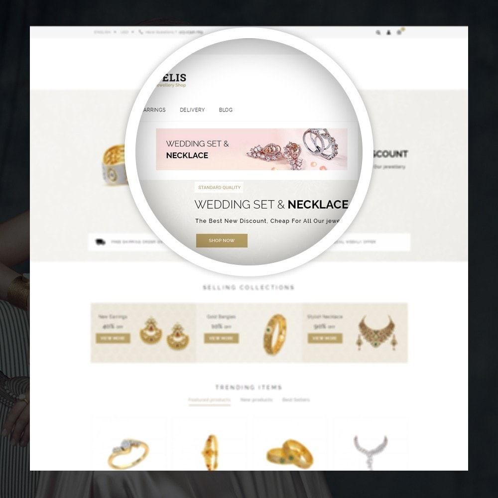 theme - Jewelry & Accessories - Fidelis - Jewelry Store - 7