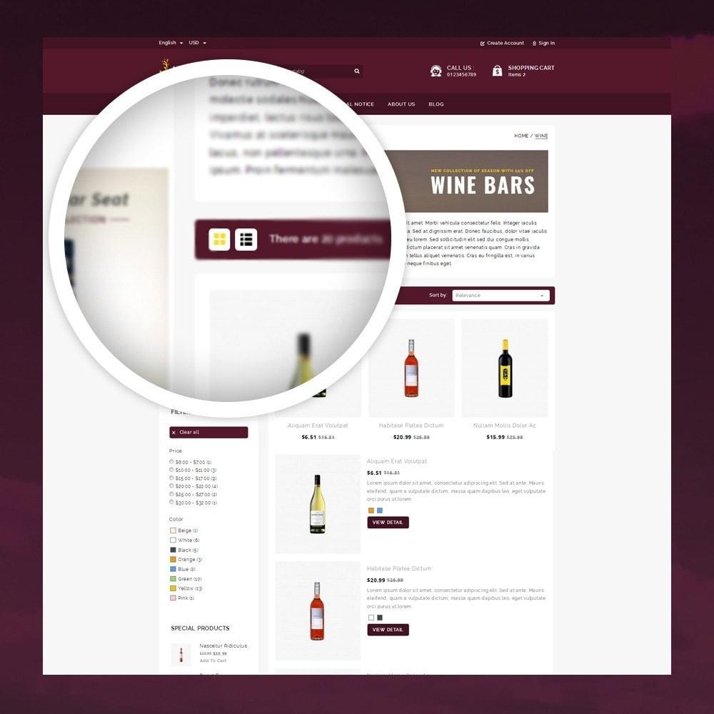 theme - Napoje & Wyroby tytoniowe - Atlantis - The Wine Shop - 3