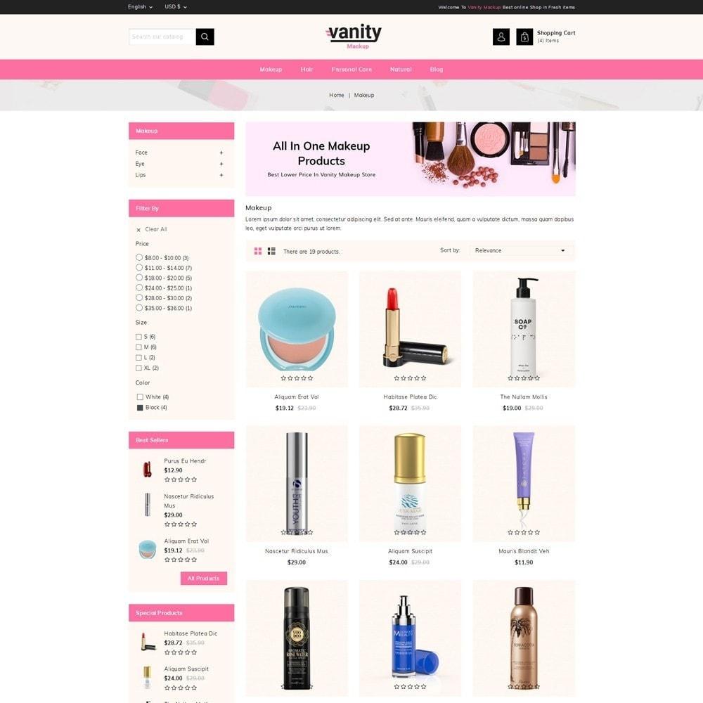 theme - Salud y Belleza - Vanity - Mackup Store - 3