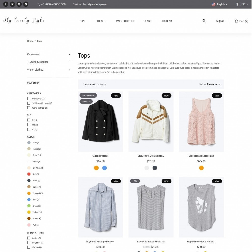 theme - Moda & Calzature - My lovely style Fashion Store - 5
