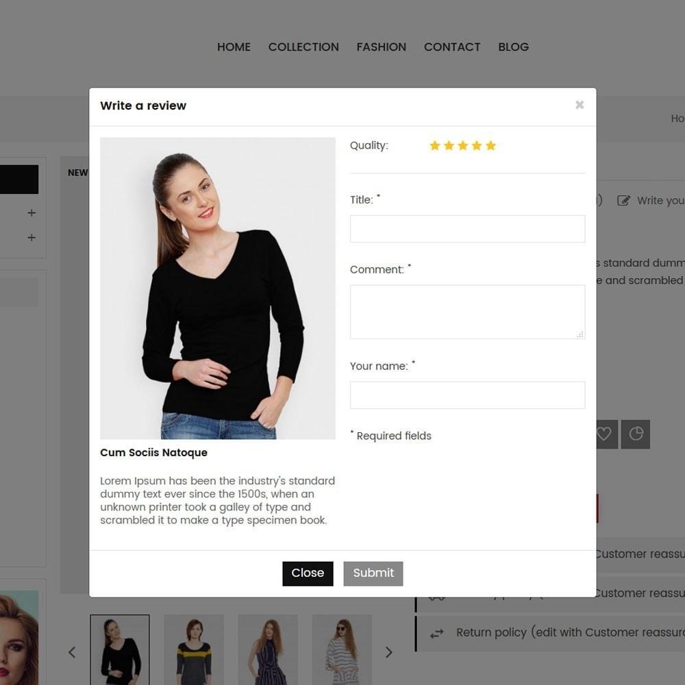 theme - Moda & Obuwie - Grace Fashion Store - 6