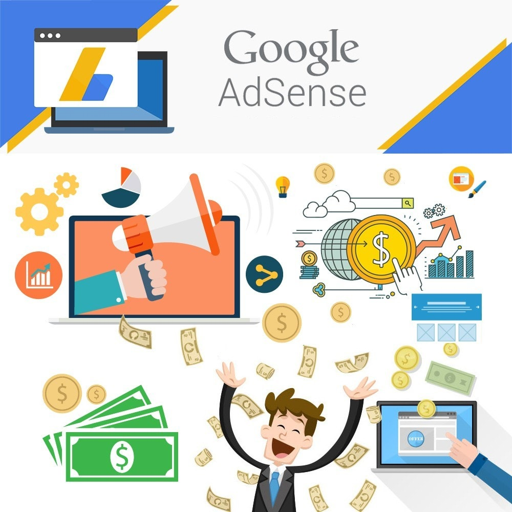 module - SEO - Integration Google AdSense Ads. - 1