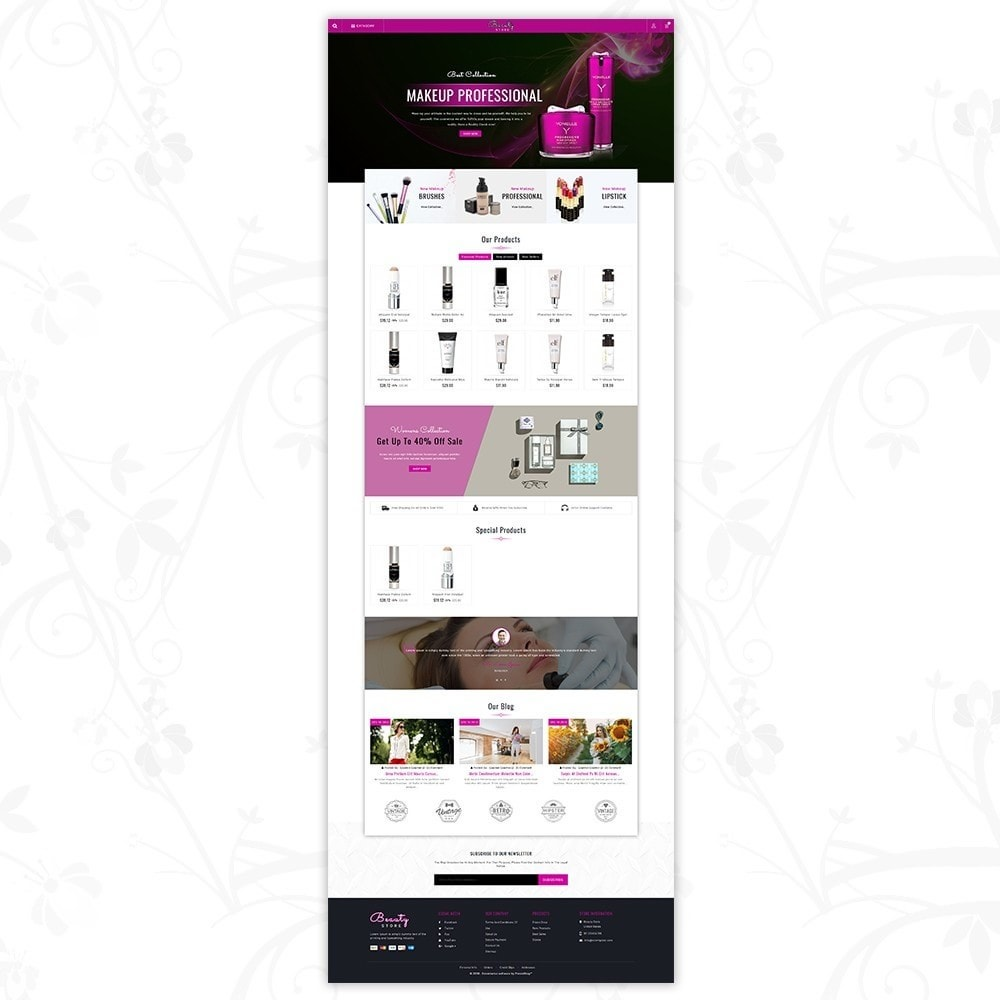 theme - Saúde & Beleza - Beauty Store - 2