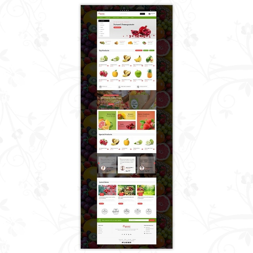 theme - Food & Restaurant - Organic Food Store - 2