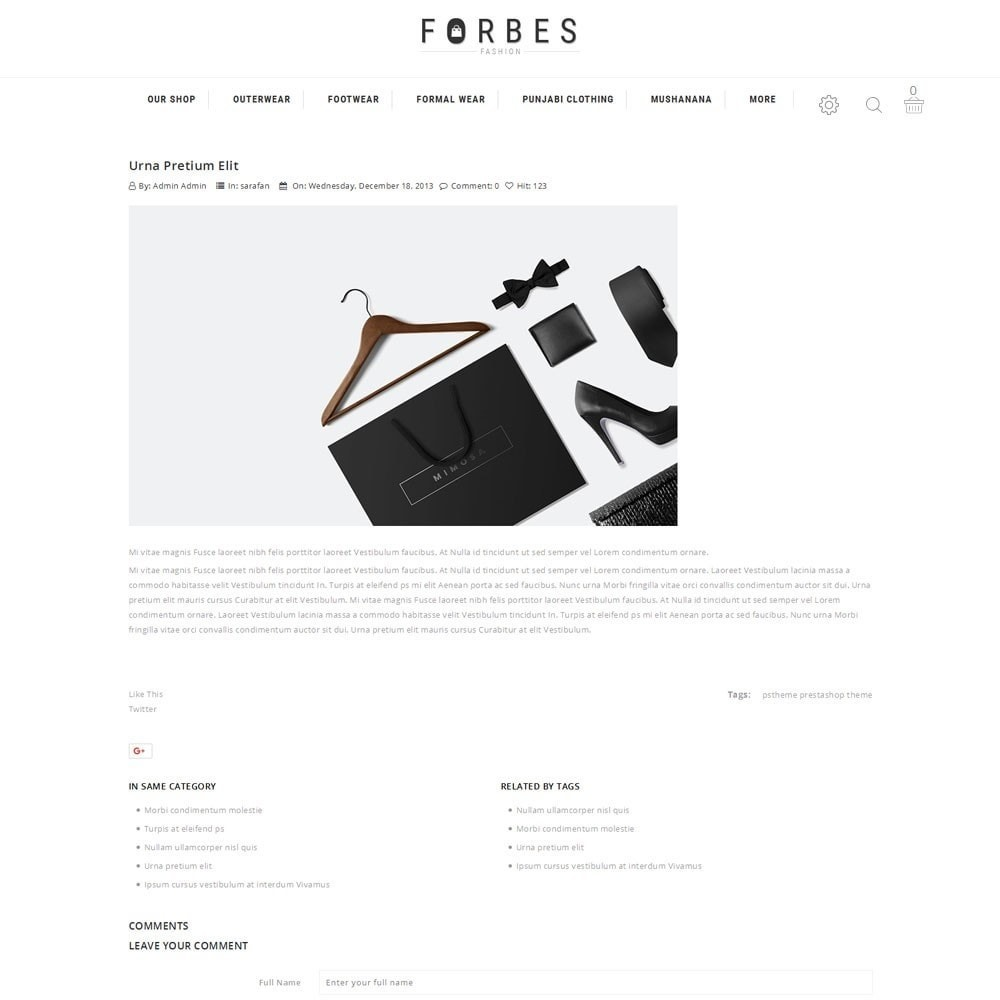 theme - Moda & Obuwie - Forbes - The Fashion Store - 5