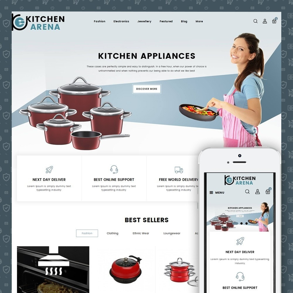 theme - Home & Garden - Arena Kitchen Store - 1