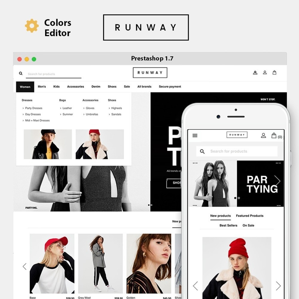 theme - Мода и обувь - Runway Fashion - 1