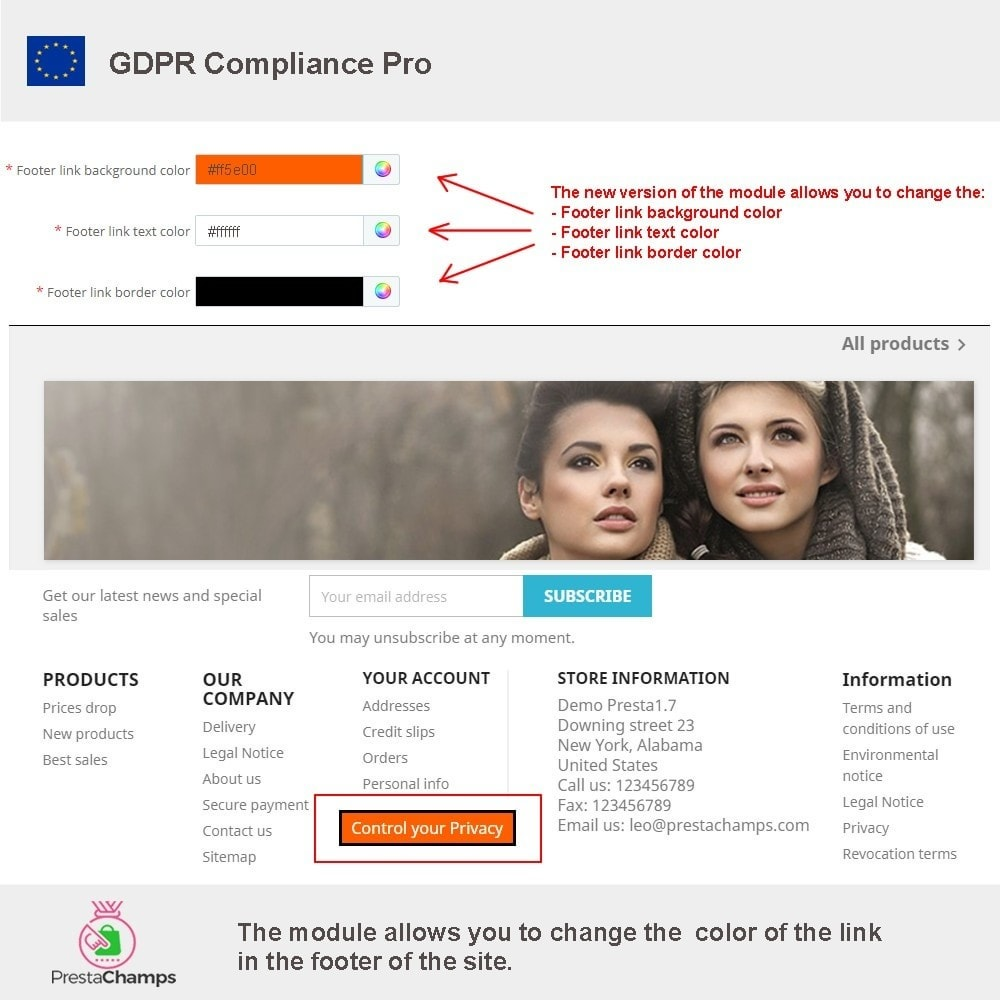 module - Администрация - GDPR Compliance Pro - 2020 Enhanced Edition - 23