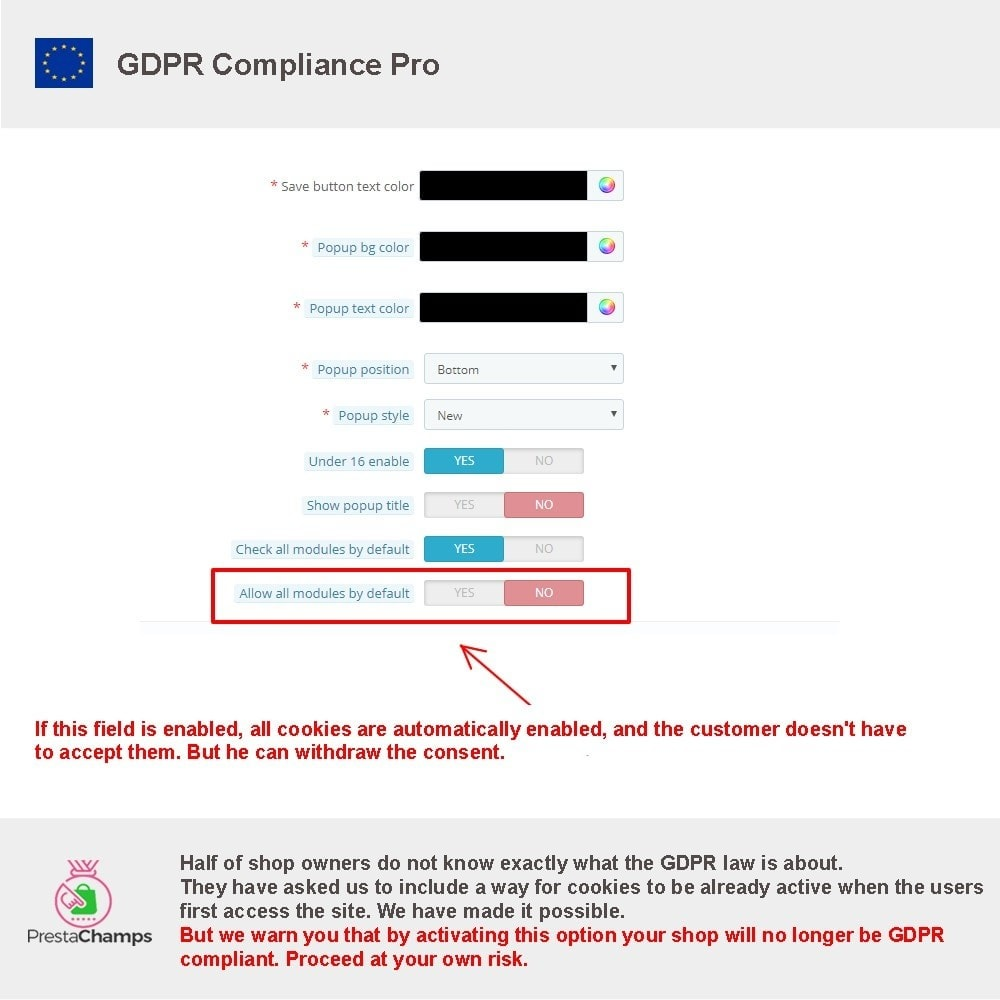 module - Legal - GDPR Compliance Pro - 24