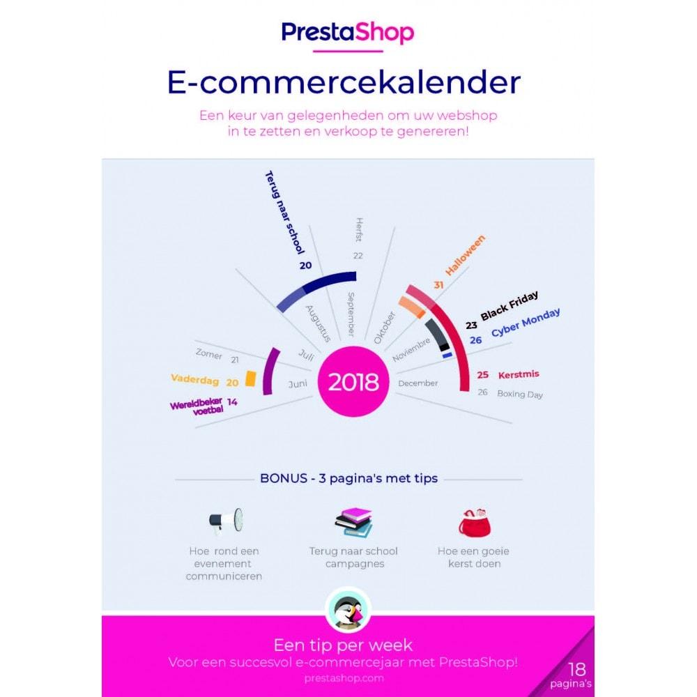 other - Kalender e-commerce - E-commerce kalender van het laatste halfjaar van 2018 - 1