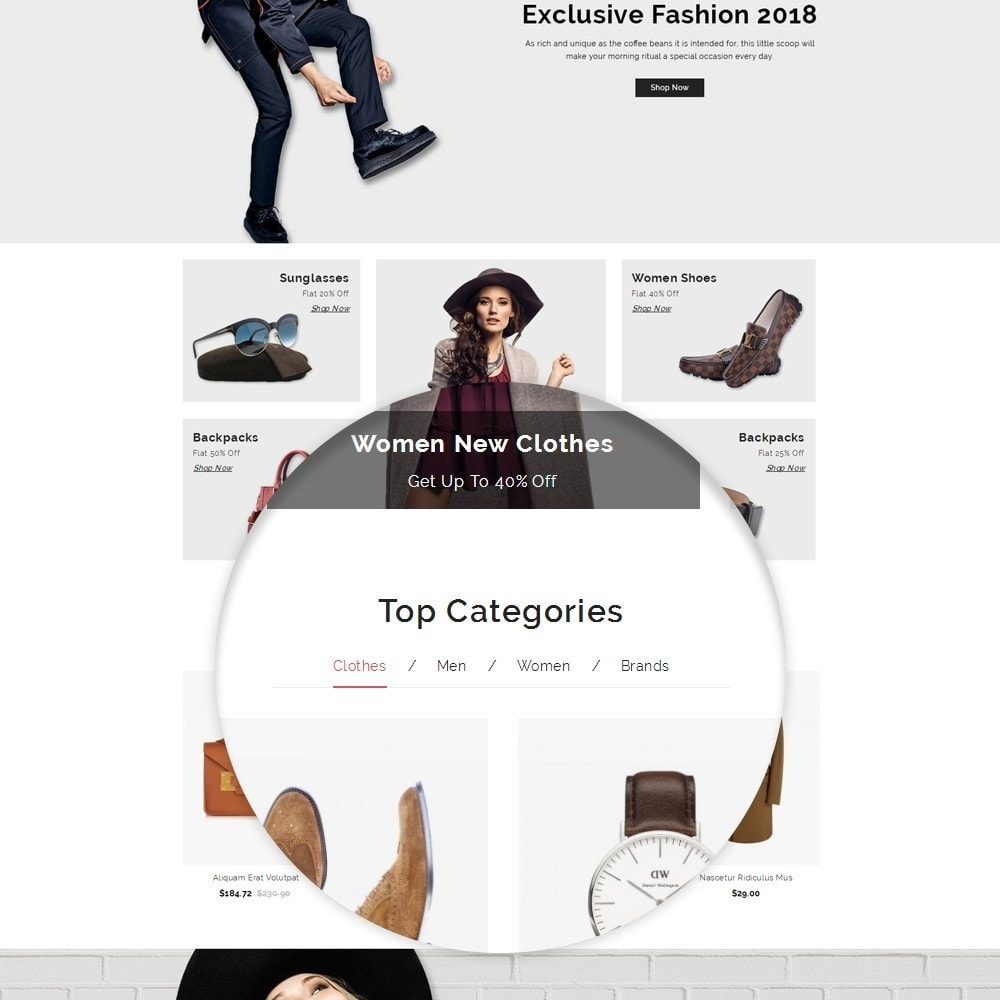 theme - Fashion & Shoes - Look - Fashion Store - 10