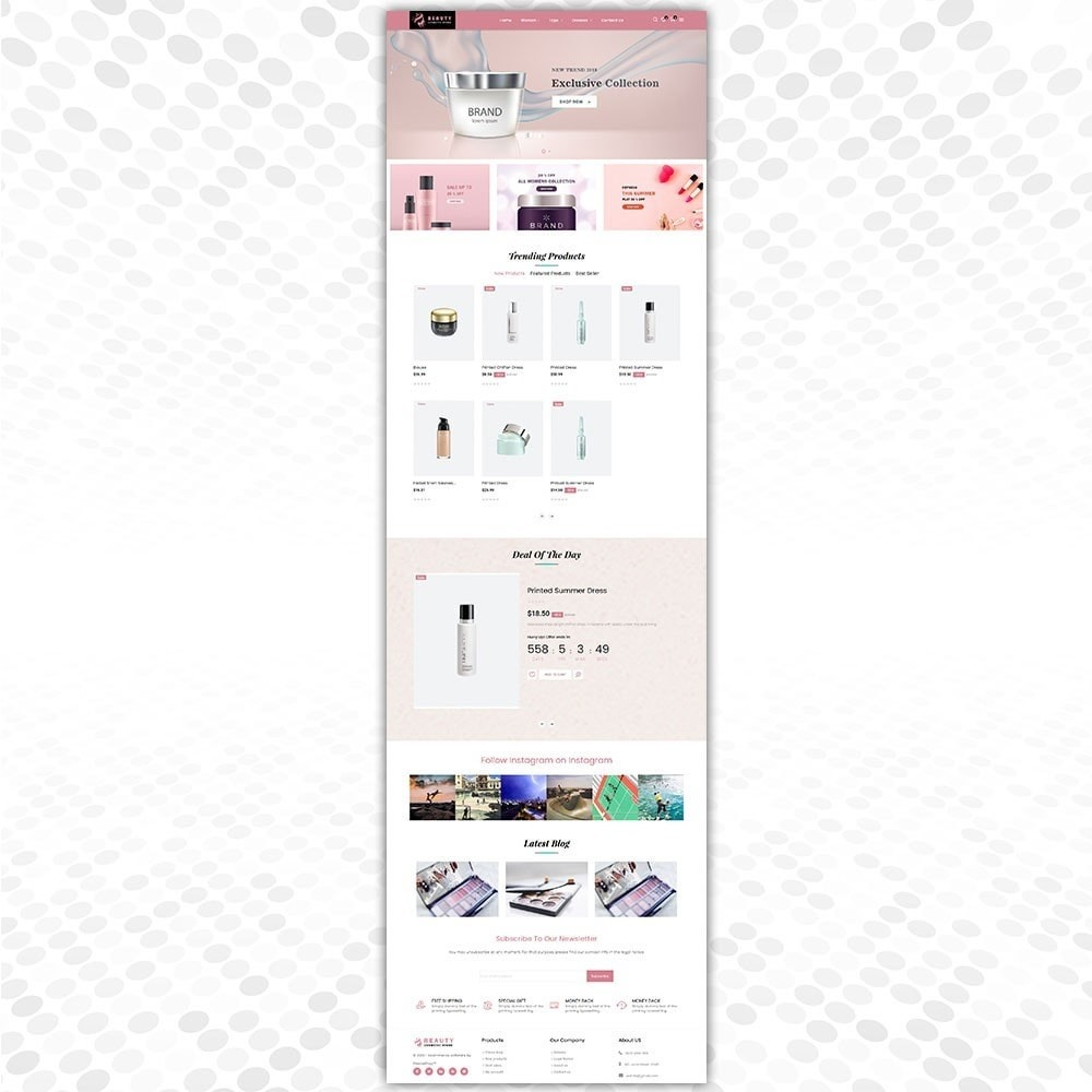 theme - Fashion & Shoes - Cosmetic Store - 2