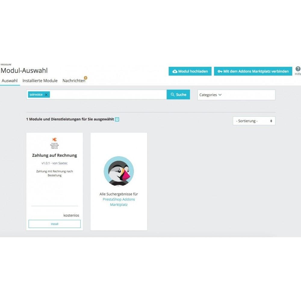 module - Zahlung auf Rechnung - Kauf auf Rechnung - 2