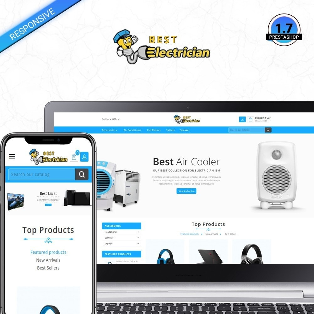 theme - Electronics & Computers - Best Electrcian - 1