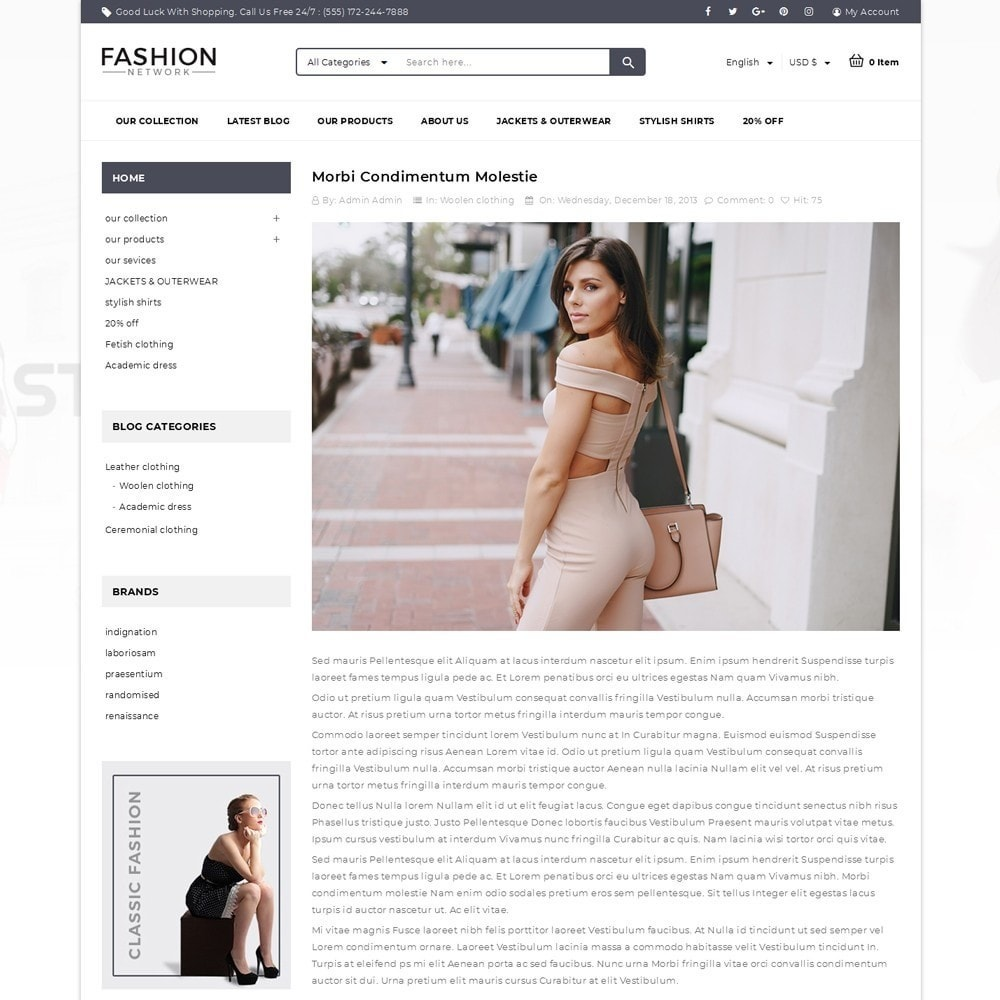 theme - Мода и обувь - Fashion Network - The Fashion Shop - 6