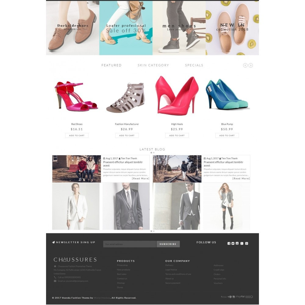 theme - Moda & Calçados - Chaussures Fashion - 3