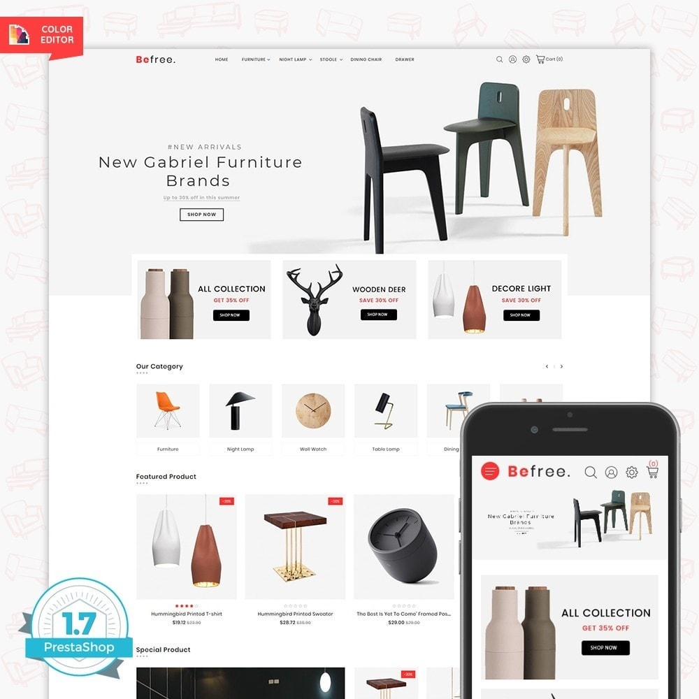 theme - Dom & Ogród - BeeFree - The Furniture Store - 1