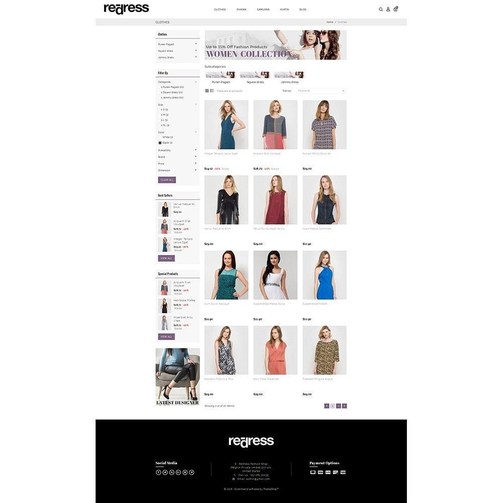theme - Мода и обувь - Redress Demo Store - 3