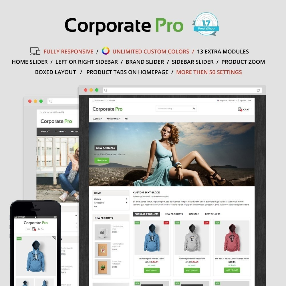 theme - Dom & Ogród - Corporate Pro 1.7 - 1