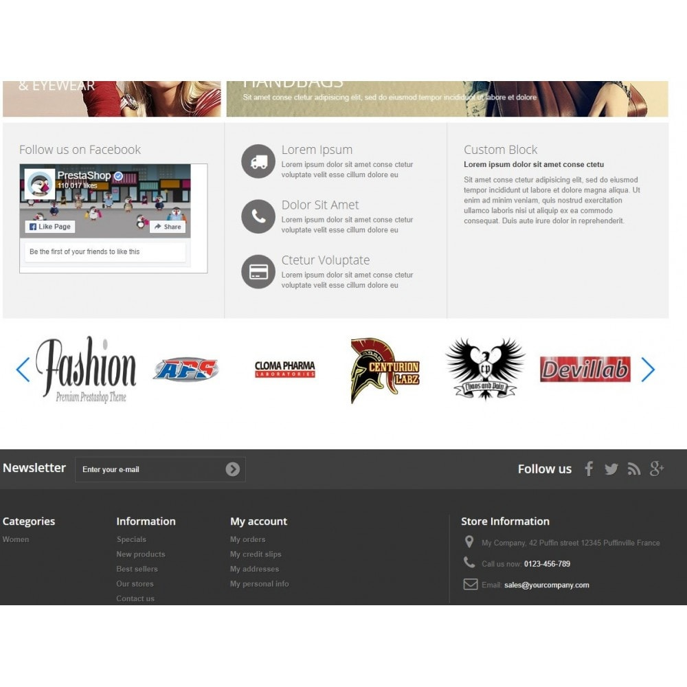module - Marques & Fabricants - Responsive Manufacturer Slider - 1