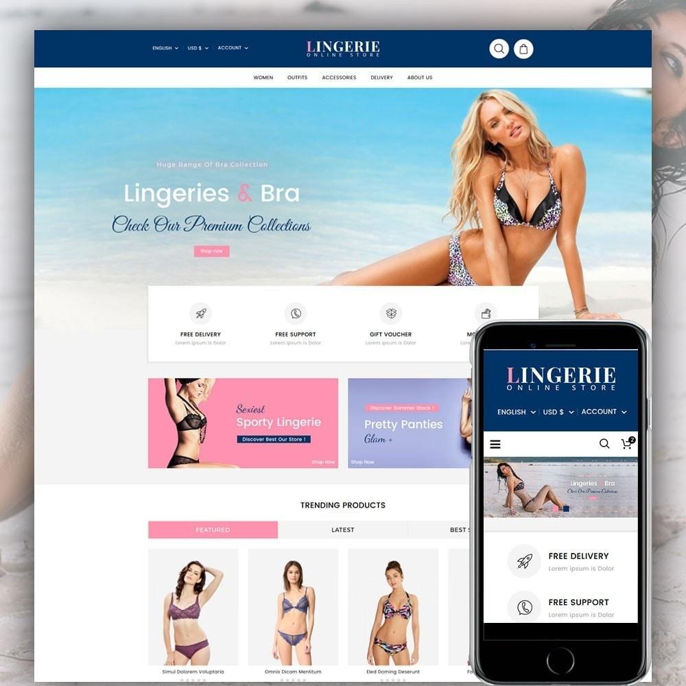 theme - Lingerie & Adulti - Lingerie Online Shop - 1