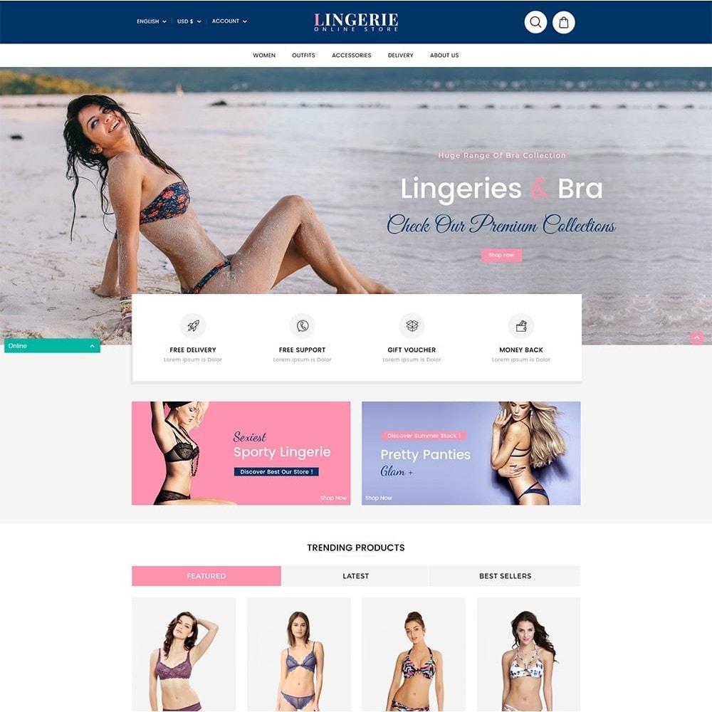 theme - Bielizna & Dorośli - Lingerie Online Shop - 2
