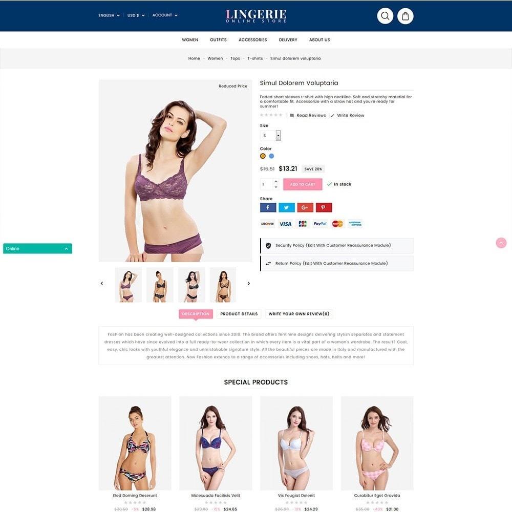 theme - Lingerie & Adulti - Lingerie Online Shop - 4