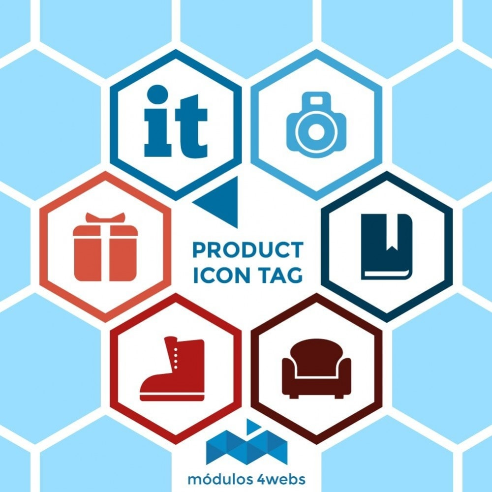 module - Etiquettes & Logos - Icon Tags for products - 1