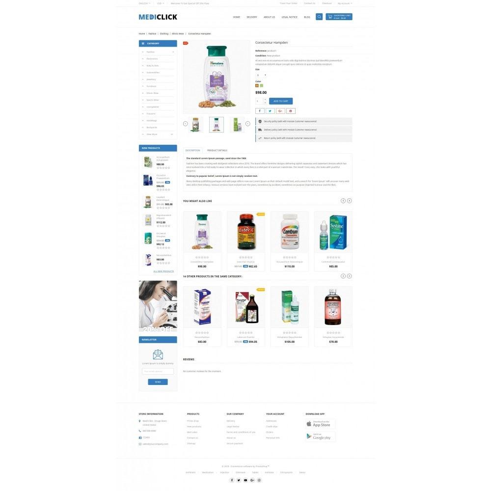 theme - Здоровье и красота - MediClick - Drugs Store - 5