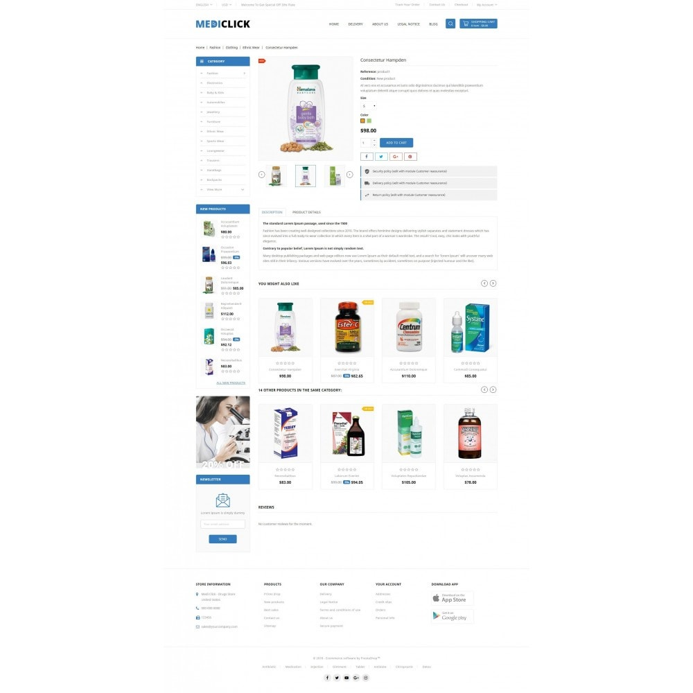 theme - Health & Beauty - MediClick - Drugs Store - 5