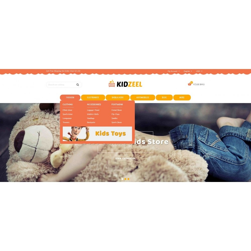 theme - Kinderen & Speelgoed - KidZeel - Toys Store - 6