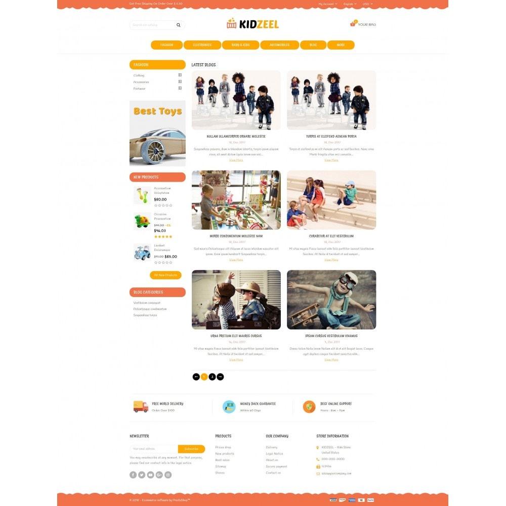 theme - Crianças & Brinquedos - KidZeel - Toys Store - 9