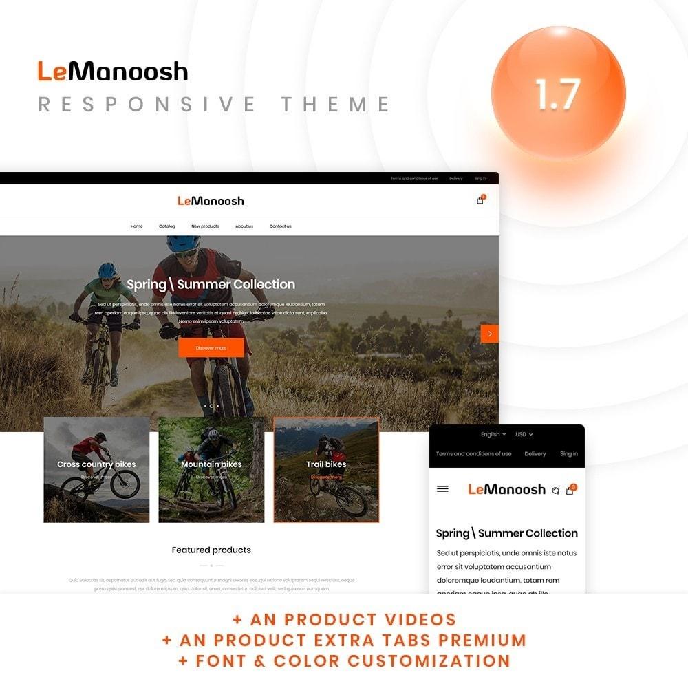 theme - Sport, Rozrywka & Podróże - LeManoosh - 1