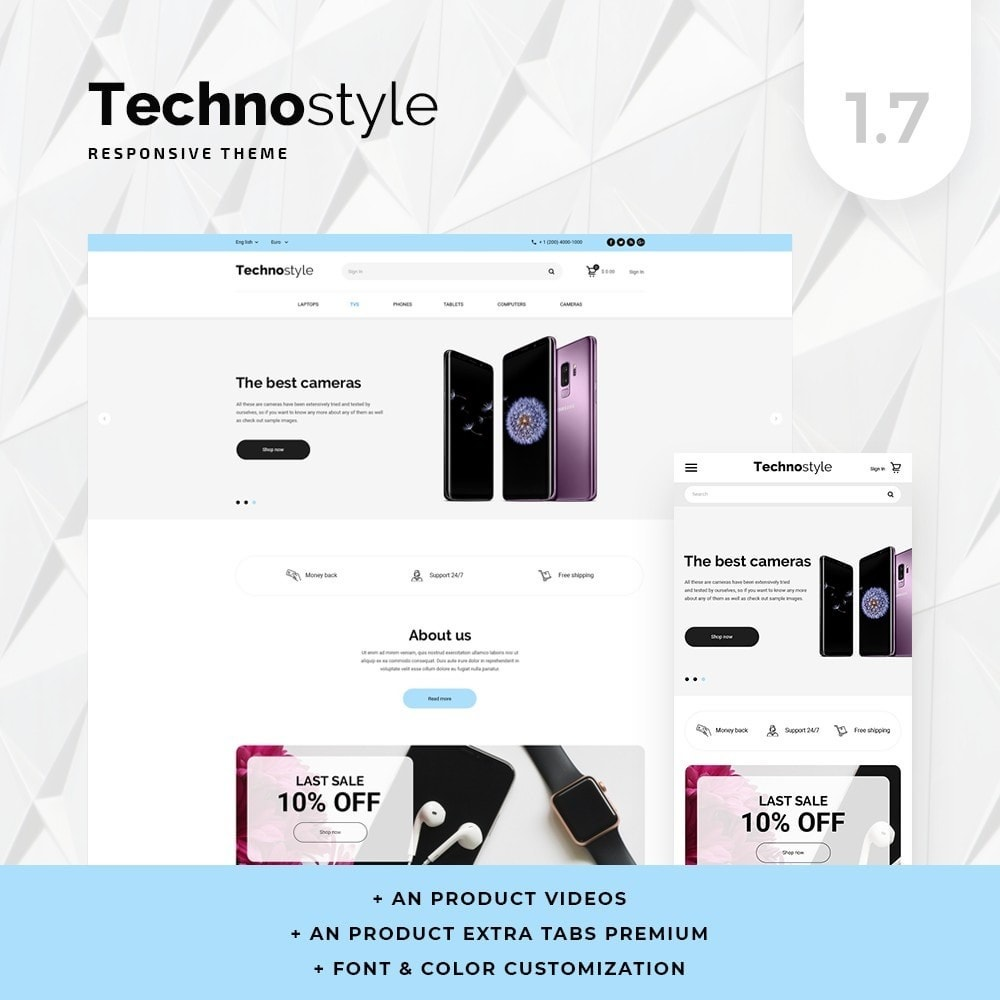 theme - Elektronika & High Tech - Technostyle - High-tech Shop - 1