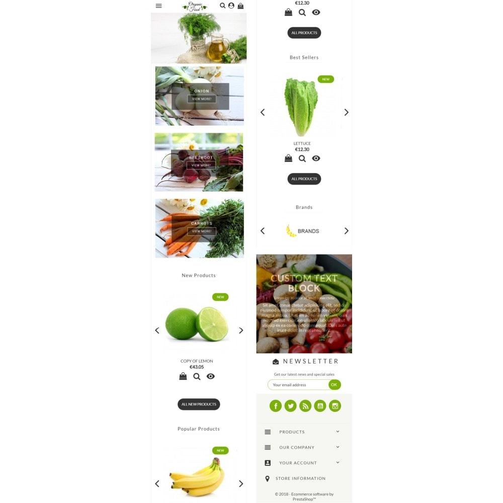 theme - Żywność & Restauracje - Organic Food - 5