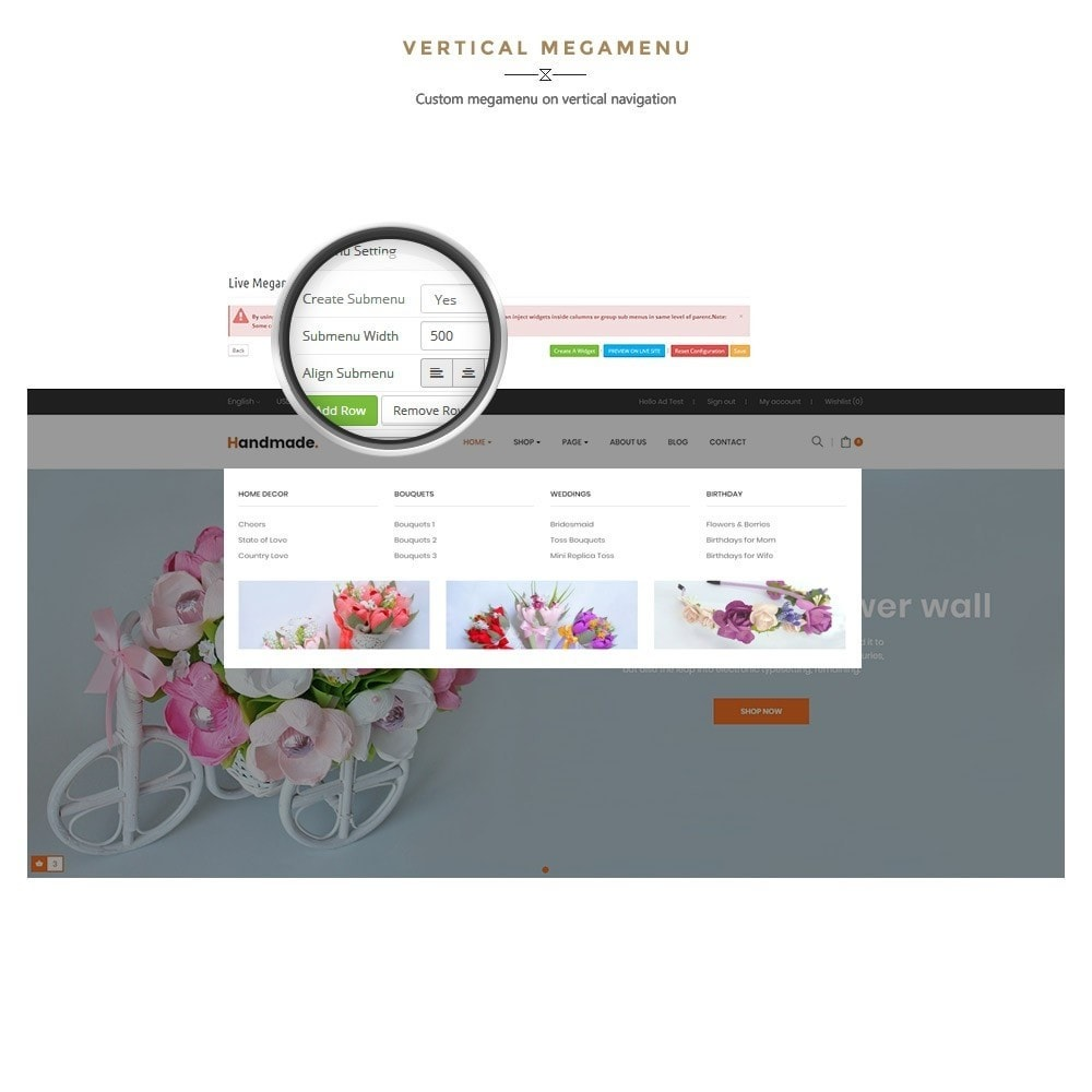 theme - Gifts, Flowers & Celebrations - Handmade Flower Store - 9