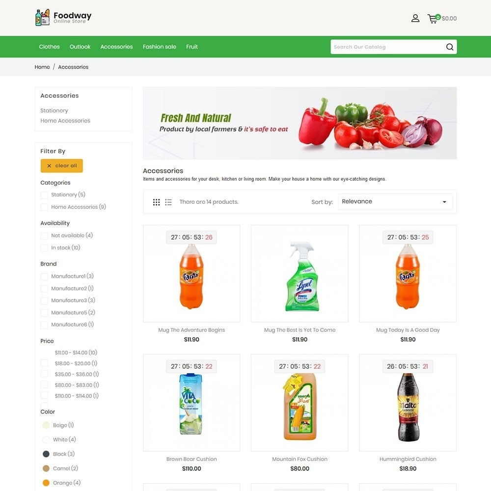 theme - Food & Restaurant - Foodway Online Store - 4