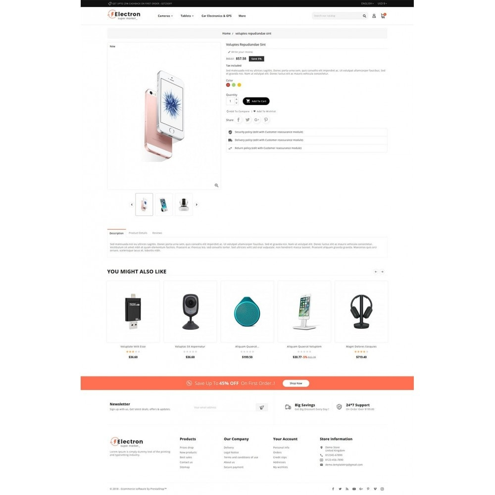 theme - Eletrônicos & High Tech - Electron - Digital Store - 5