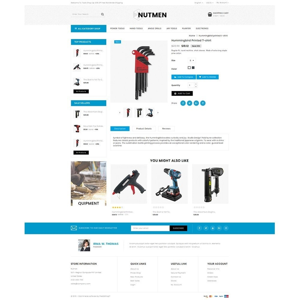 theme - Coches y Motos - Nutmen Tools Store - 5