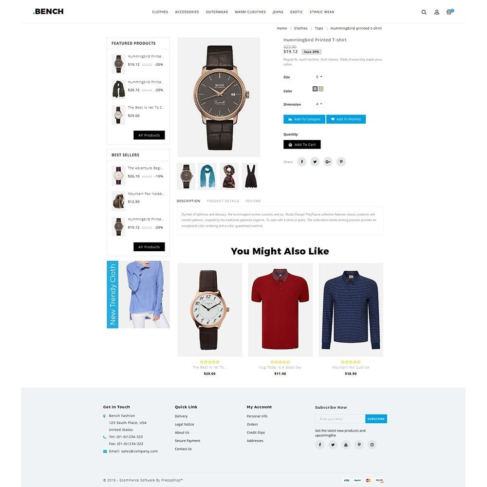 theme - Мода и обувь - Bench Fashion Store - 5