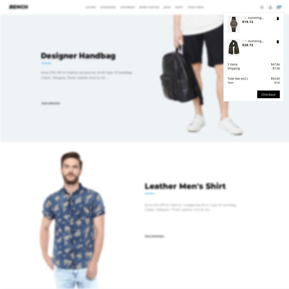 theme - Мода и обувь - Bench Fashion Store - 8