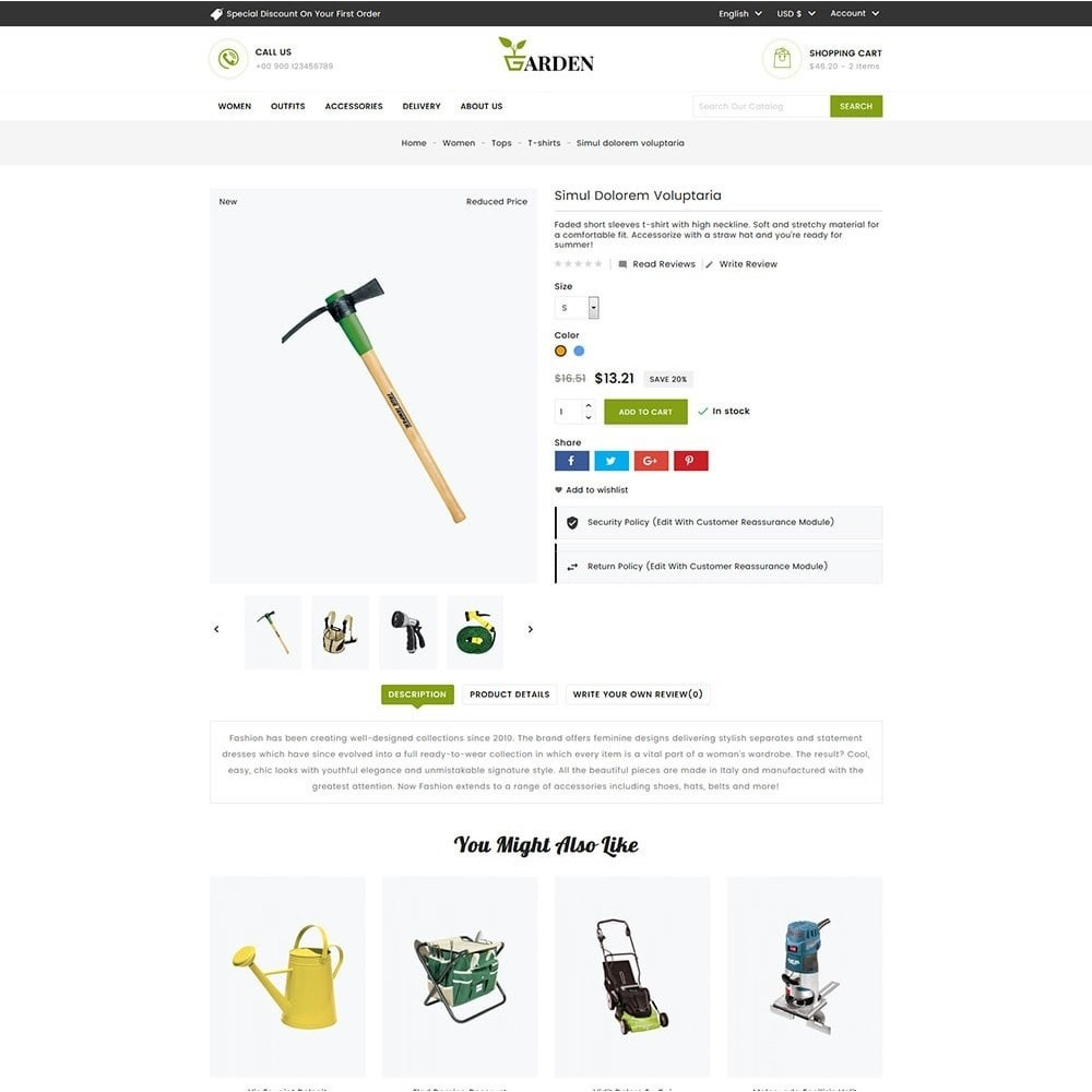 theme - Home & Garden - Garden Tools - 4