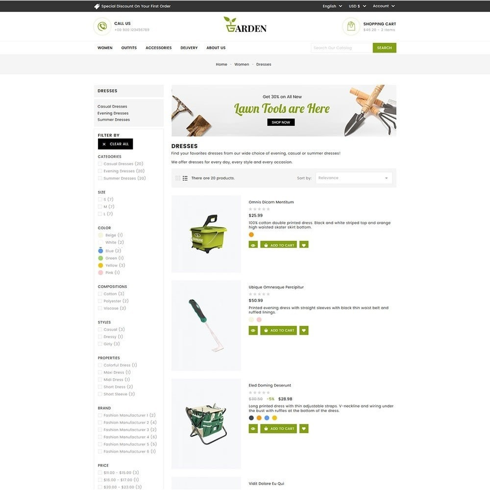 theme - Home & Garden - Garden Tools - 6