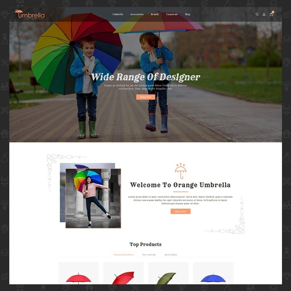 theme - Moda y Calzado - Umbrella Store - 2